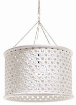 The Well Appointed House Arteriors Jarrod Large White Pendant