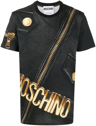Moschino Jacket Print T-Shirt