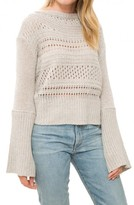 Inhabit Cashmere Crochet Crew