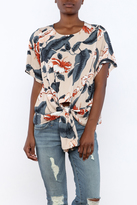 Alythea Tropical Print Top