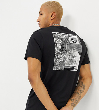 The North Face Story t-shirt in black Exclusive at ASOS