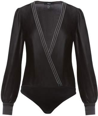 Nissa V-Neck Viscose Bodysuit