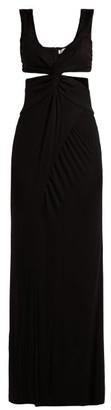 Galvan Horizon Jersey Dress - Womens - Black