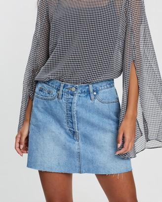 Camilla And Marc Beatrix High-Waisted Mini Skirt