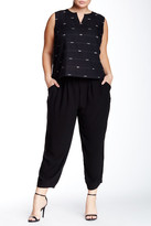 Eileen Fisher Silk Slouchy Pant (Plus Size)