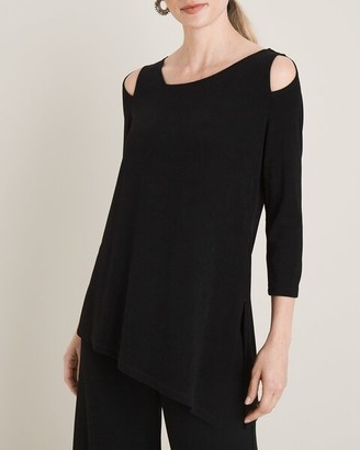 Travelers Classic Cold-Shoulder Tunic