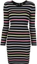 Milly slim fit striped dress