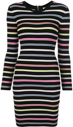 Milly Slim Fit Striped Dress