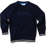 HUGO BOSS Boys Knitted Pullover