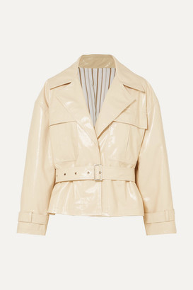 Frankie Shop - Pvc Jacket - Cream