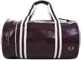 Fred Perry Classic Barrel Bag Burgundy