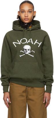 Noah NYC Green Jolly Roger Hoodie