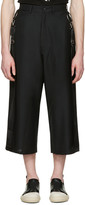 D.gnak By Kang.d Black Side Straps Trousers
