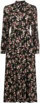 Twin-Set Twin Set floral-print shirt dress