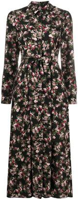 Twin-Set Floral-Print Shirt Dress