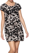 Michael Lauren Mini Floral Print Dress