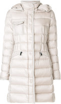 Moncler Hermine coat - women - Feather Down/Polyamide - 0