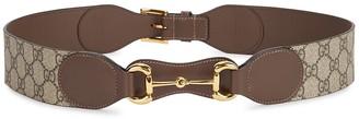 Gucci 1955 GG Supreme Monogrammed Belt