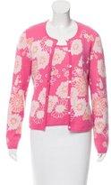 TSE Floral Cashmere Cardigan Set
