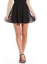 Armani Exchange Lace A-Line Skirt