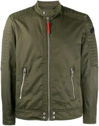 Diesel fitted biker jacket