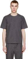 Sunnei Grey Woven Pocket T-Shirt