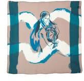 Amanda Wakeley Aquarius Silk Zodiac Scarf