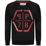 Philipp Plein Philipp PleinBoys Black Platin Silver Sweatshirt