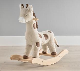 Pottery Barn Kids Giraffe Plush Nursery Rocker