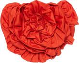 Mara Hoffman Appliqued Cotton-Poplin Top