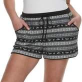 Mudd Juniors' Plus Size Peached Shorts