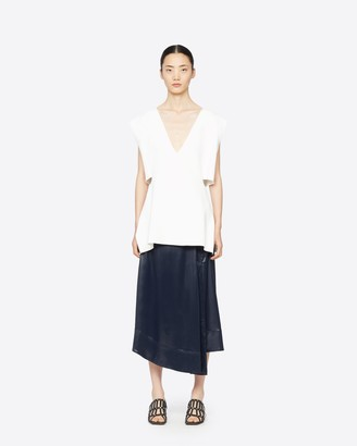 3.1 Phillip Lim Lacquered Snap Skirt