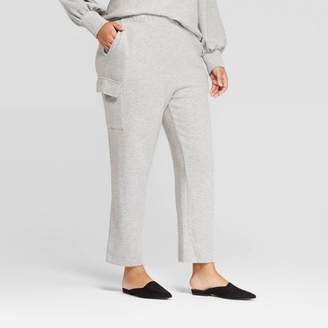 Who What Wear Women's Plus Size Mid-Rise Straight Capri Lounge Pants - Who What WearTM