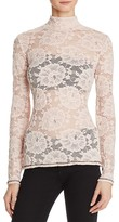 GUESS Remi Long Sleeve Lace Top