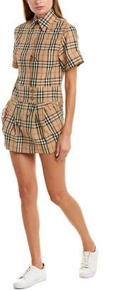 Burberry Vintage Check Shirtdress