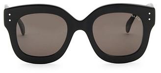 Alaia 50MM Round Sunglasses