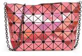 Kayers Sulliva Women's Fashion Geometric Plaid Cross-body Shoulder Bag Purse with Metal Chain Strap