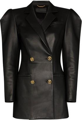 Versace puff-sleeve mini jacket dress
