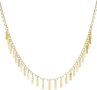 Panacea Linear Fringe Necklace