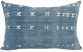 The Well Appointed House Indigo Textile Lumbar Pillow