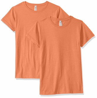 AquaGuard Women's Fine Jersey Longer Length T-Shirt-2 Pack