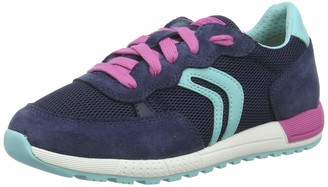 Geox Girls J ALBEN B Low-Top Sneakers