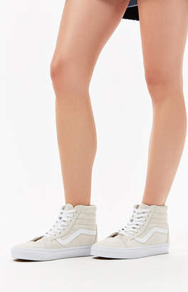 Vans Women's White Sk8-Hi Reissue Sneakers