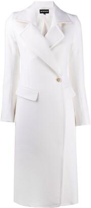 Ann Demeulemeester Single Breasted Long Coat