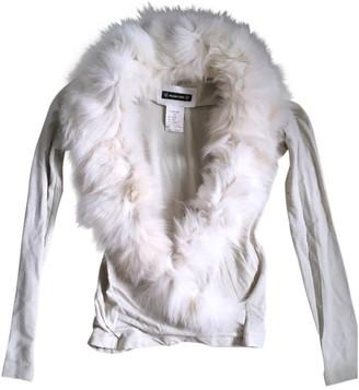 Plein Sud Jeans Ecru Fox Knitwear for Women Vintage