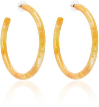 Cult Gaia Geneva Acrylic Hoop Earrings