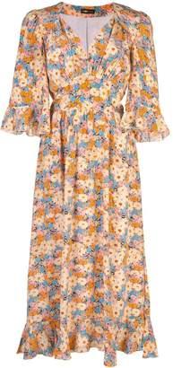Stine Goya Evelyn Flowers silk dress