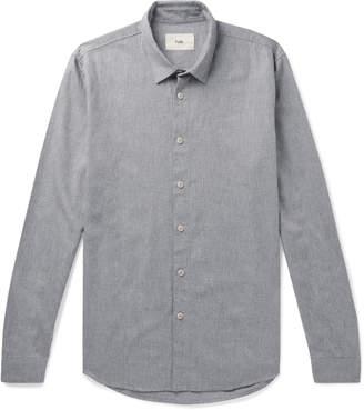 Folk Storm Brushed Cotton-Flannel Shirt