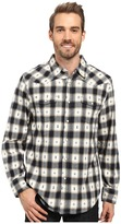 True Grit Fire Mountain Icons Long Sleeve Two-Pocket Western Shirt with Contrast Chambray