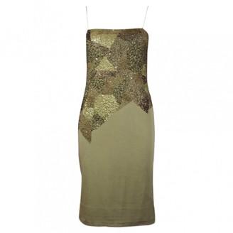 Cerruti \N Green Cotton Dresses